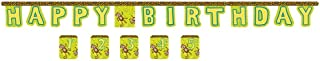 Jointed Birthday Banner with Customizable Year Stickers, Monkeyin' Around