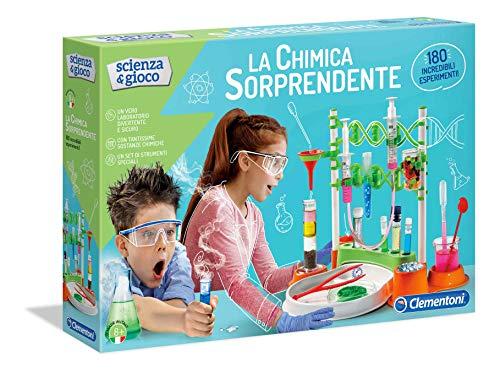 Clementoni- Scienza&Gioco La Chimica Sorprendente, 8+ Anni, Multicolore, 19109