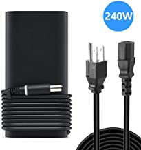 240W AC Adapter Compatible with Dell Precision 7730,Dell Precision 7520, Precision 7720, Alienware 15 R4, Alienware 17 R5 Laptop by VEONES