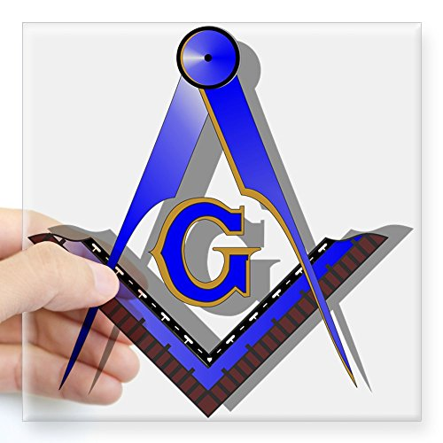 Freemason Car Sticker