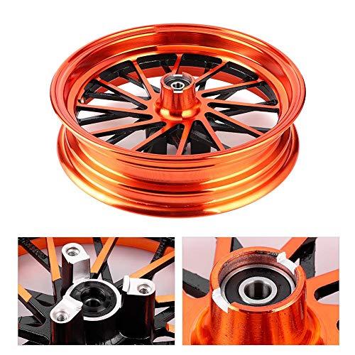 Llantas de rueda, fáciles de instalar Llantas de aleación de aluminio Material de aleación de aluminio 24 radios para motocicleta de freno