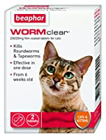 Kills both roundworms and tapeworms Use from 6 weeks of age and weighing more than 1kg Meaty flavoured Effective in One Dose