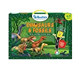 Skillmatics Educational Game : Dinosaurs and Fossils   Reusable Activity Mats with 2 Dry Erase Markers   Gifts & Learning Tools for Boys and Girls 6, 7, 8, 9 Years