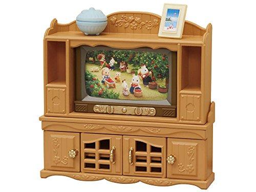 シルバニアファミリー テレビ・テレビ台セット カ-522