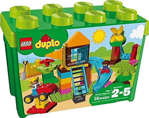 LEGO® DUPLO® Steinebox mit großem Spielplatz