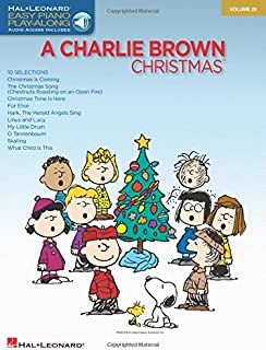Charlie Brown Christmas: Easy Piano Play-Along Volume 29 (Easy Piano Cd Play-along)