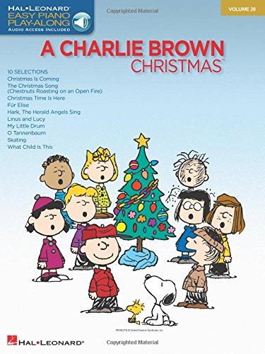 A Charlie Brown Christmas Piano +CD (Easy Piano CD Play-Along): Easy Piano CD Play-Along Volume 29