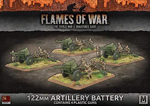 Flames of War: Mid War: Soviet Union: 122mm Artillery Battery (SBX49)