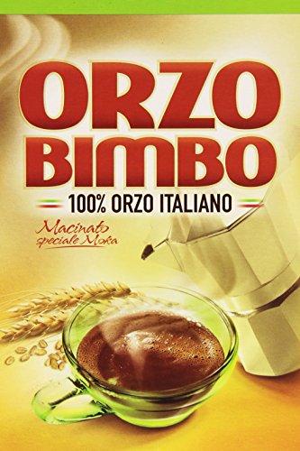 Orzo Bimbo: barleyand Kaffee Puder für Moka 17.63oz (500gr) Paket [Italienische Import]