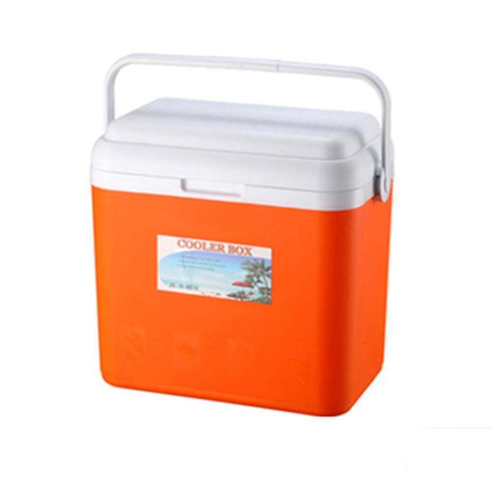 Compra Cubo de hielo al aire libre - Caja del refrigerador portátil de conservación de alimentos del congelador suplementario Ideal for picnic / camping Caja del refrigerador de plástico que pueden también