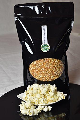 Premium Butterfly Popcorn Kinopopcorn 1 Kg bolsa fresca XL 1:46 Premium popcorn pop volumen en bolsa con cierre GMO Free (1000)