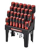 Karx 290416 Destornilladores, Cromo, Set de 26 Piezas