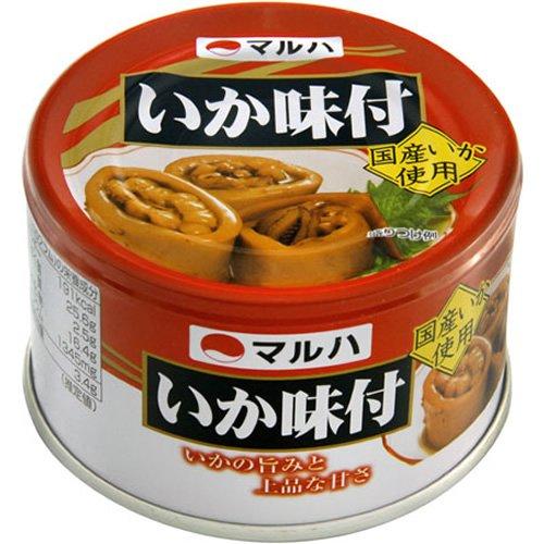 マルハニチロ マルハ いか味付 EO缶155g [1564]