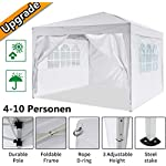 Oppikle 3x3m /3x6m Garden Gazebo Marquee Tent with Side Panels, Fully Waterproof, Powder Coated Steel Frame for Outdoor… 9