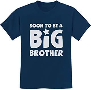 Soon to Be A Big Brother - Best New Sibling Gift Idea Kids T-Shirt with Stickers