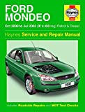 Ford Mondeo Petrol & Diesel (Oct 00 - Jul 03) X To 03: 2000 to 2003 (Haynes Service and Repair Manuals)