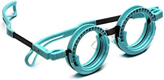 Optical Optic Trial Lens Frame - Optical Optic Trial Lens Frame - Trial Frames Optometry - Optometry Optician Eye Eyewear Eyeglasses Test Tool - Titanium Trial Frame Fixed PD(62mm), Blue