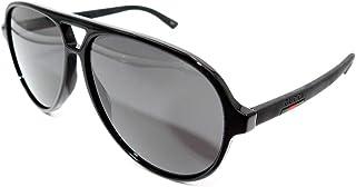 Authentic GUCCI Black Pilot Sunglasses GG0423S - 007NEW