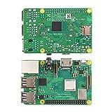 Kit de carte mère Alupre, 8 en 1 Kit de carte mère 3B + Raspberry Pi Coque en plastique + Ensemble...