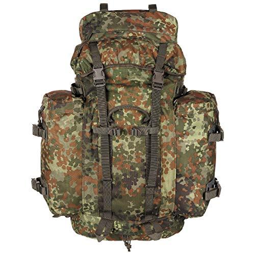 MFH BW Rucksack 'Mountain' 80L in 3 Farben 30283 Unisex Rucksack flecktarn/BW camo