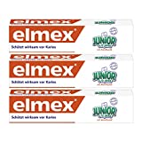 Elmex dentifrice junior, 3-pack (3 x 75 ml)