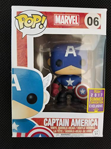 Funko POP! Marvel: Capitán América Exclusivo
