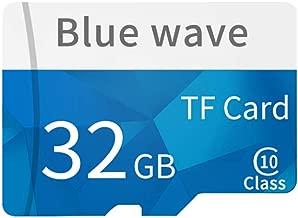 Docooler Memoria ad alta velocità della carta di TF della carta di TF della classe 10 della carta di memoria di capacità di alta velocità per lo smartphone 8GB/64GB/128GB (32GB)