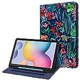 FINTIE Funda para Samsung Galaxy Tab S6 Lite de 10.4' con Portalápiz - [Multiángulo] Trasera de TPU Suave con Bolsillo...