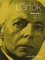バルトーク : 狂詩曲 第1番/ブージー & ホークス社/ピアノ伴奏付バイオリン・ソロ楽譜