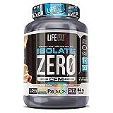 Life Pro Isolate Zero 1Kg   Suplemento Deportivo de Proteína de Suero Aislada, Suplemento Proteísnas para Mejora y Crecimiento del Sistema Muscular, Aumenta Resistencia, Sabor Peanut Butter, 1 kg