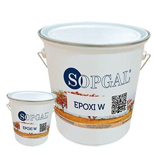Pintura Epoxi para uso Alimentario - 10 kgs+ 2 kgs, Blanco