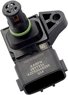 CZHAN 2897334, 4921324, 2872784 TEMP Dual Sensor for Cummins Air Pressure Temperature Sensor for Truck M11 ISC ISL ISM ISX ISB