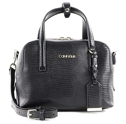 Calvin Klein CK Must Bowling Bag SM Lizard CK Black