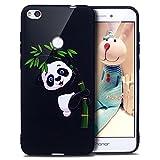 ikasus Coque Huawei P8 Lite 2017 Etui Motif Papillon Panda Hibou Fleur Couleur peinte Coque Silicone...