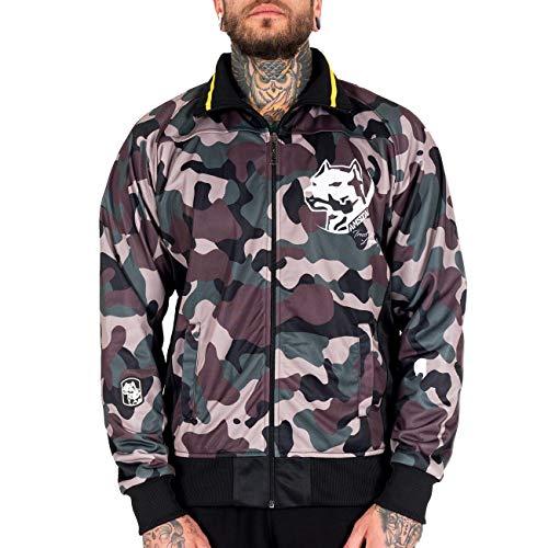 Amstaff Männer Tafio Trackjacket in Camouflage 3XL