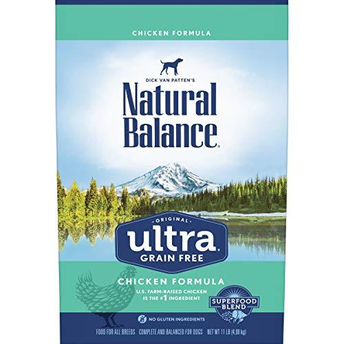 Natural Balance Original Ultra Grain Free Dog Food, Chicken Formula, 11 Pounds