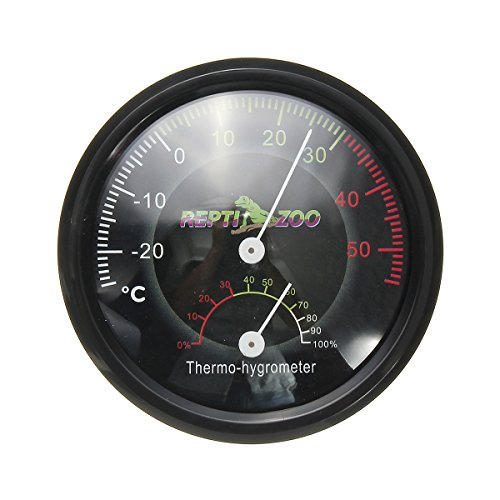 Tutoy 2 In 1 Reptiel Terrarium Thermometer Vochtigheid Gauge