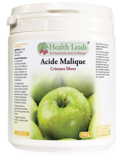 Acide malique 500g (100% sans additif)