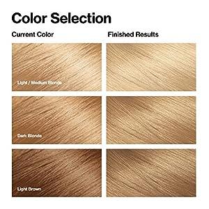 Revlon Colorsilk Beautiful Color Permanent Hair Color with 3D Gel Technology & Keratin, 100% Gray Coverage Hair Dye, 81 Light Blonde