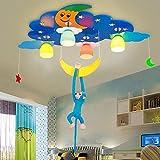 Lumières FUFU Luminaires intérieur Protection Contre Les Yeux LED pour Enfants de Chambre à Coucher bébé Carré créatif pour...