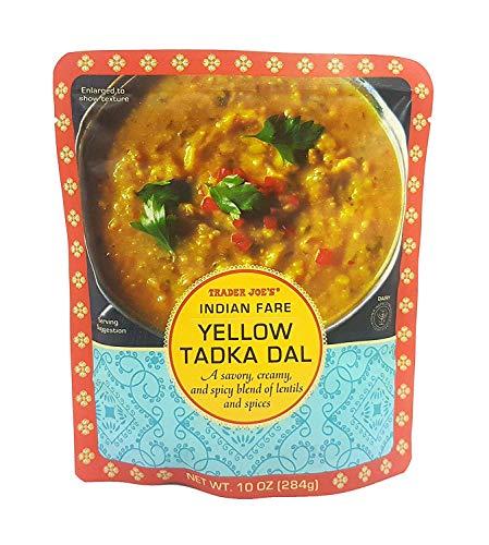 Trader Joe  Indian Fare Yellow Tadka Dal NET WT10 OZ 284g  2Pack