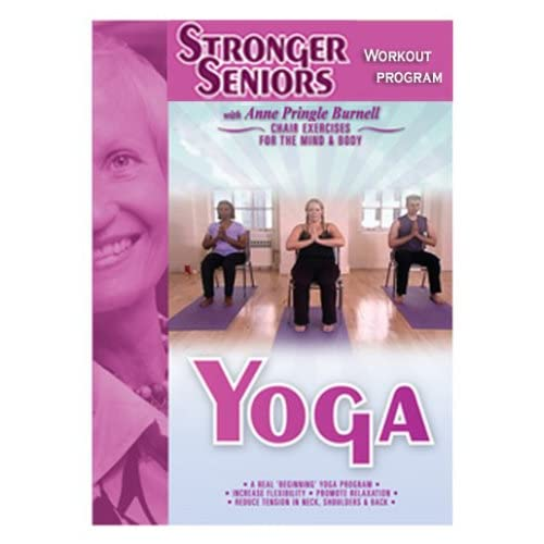 Amazon.com: Chair Yoga: Anne Pringle Burnell, James ...