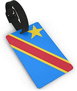 Congo Flag Luggage Tags Suitcase Labels Carry-on Id