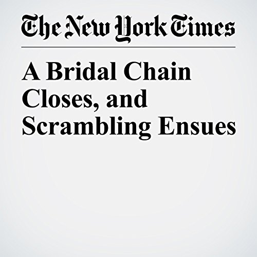 A Bridal Chain Closes, and Scrambling Ensues copertina
