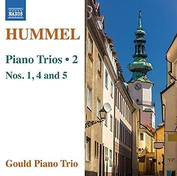 Hummel: Piano Trios, Vol. 2