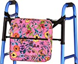 NOVA Universal Tote Bag for Folding Walker, Rollators, Wheelchairs and Scooters, Enchanted Garden