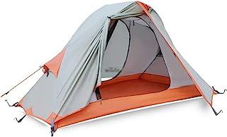 Camping Tent طبقة مزدوجة الألومنيوم القطب خيمة خيمة سماكة المعطف التخييم نزهة خيمة واحدة Dome Tent