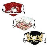 1PC Papá Noel de Bandanas Respirable Polaina de cuello Elástico Multifuncional Wicking Pañuelo Estampado Papá Noel, Reutilizable, 𝐌𝐚𝐬𝐜𝐚𝐫𝐢𝐥𝐥𝐚𝐬 facial de tela de algodón reutilizable