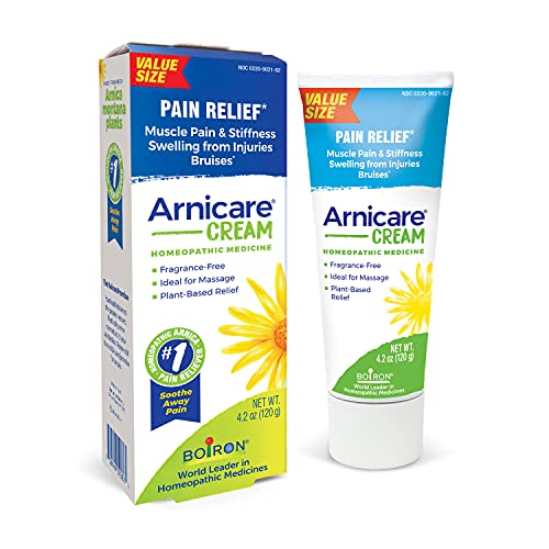 Boiron Arnicare Cream 4.2 Ounce (Pack of 1) Homeopathic Medicine for Pain Relief