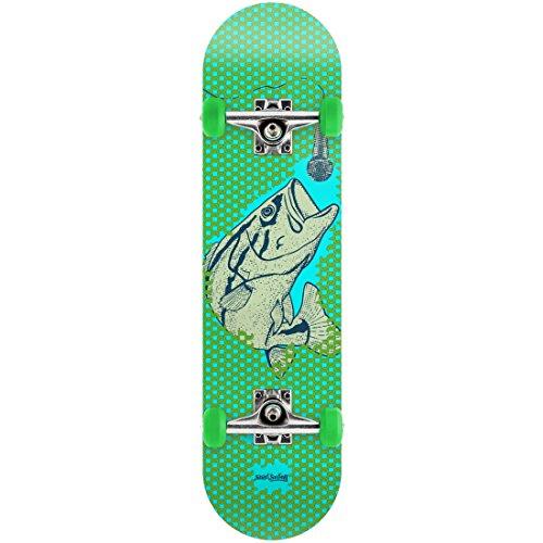 Streetsurfing Street Surfing Skateboard 31, Design: Singing Fish, 500450, Mehrfarbig, M